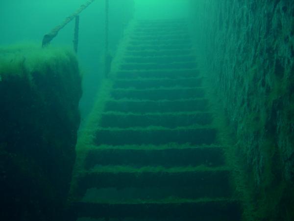 Vestiges sous-marins de Beffes
