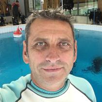 Christian Kamlet Moniteur de plongée à Cékane Divers