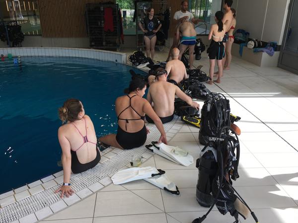 Formation plongeurs débutants